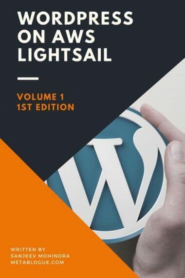 WordPress on AWS LightSail Tutorials