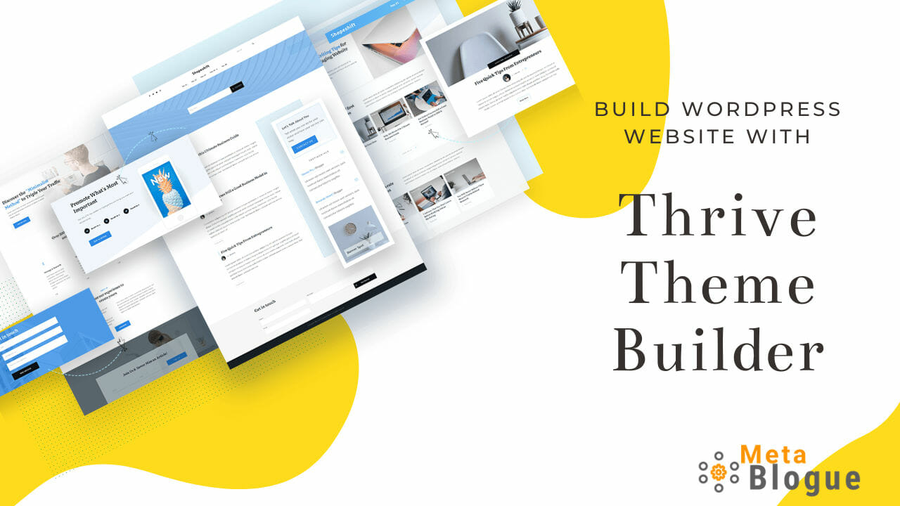 Thrive Theme Builder Review – A Tool To Build WordPress Sites Easily