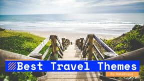 13 Best WordPress Travel Themes For Travel Bloggers